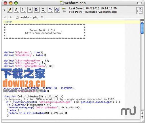 PHP Mac版